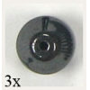 Hematite Round Double Cone 6.5mm 16in Strand